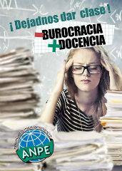 """Los profesores de Castilla-La Mancha piden """"Menos burocracia y más docencia"""""""