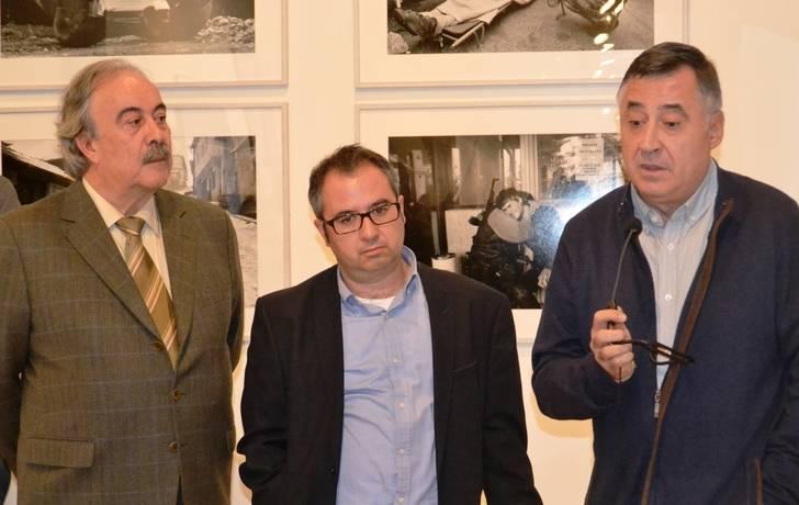 Abre al público la exposición del fotoperiodista Gervasio Sánchez, que podrá visitarse en el Museo Provincial hasta el 15 de enero