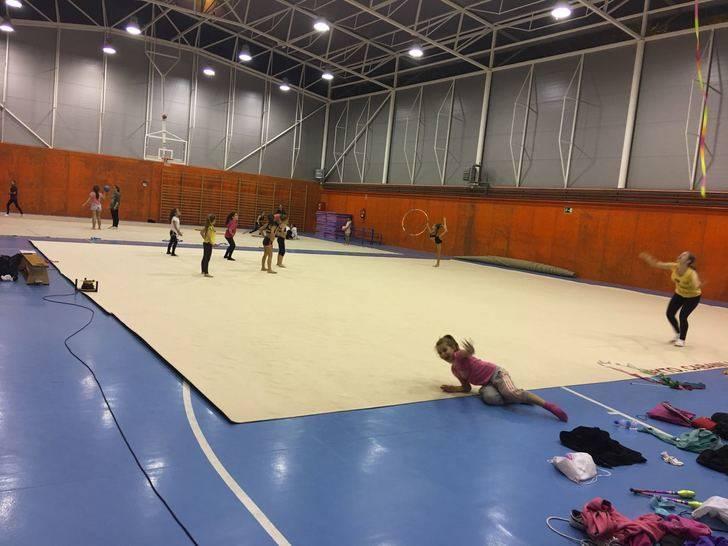 Cabanillas adquiere un nuevo tapiz de gimnasia para el Polideportivo San Blas