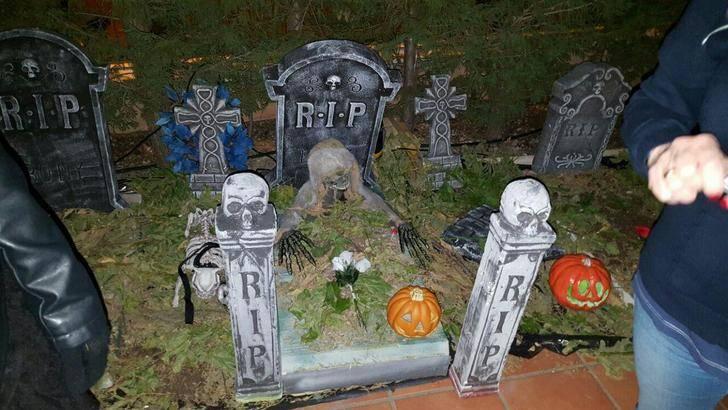 Un Halloween para la historia, terroríficamente divertido en Villanueva de la Torre