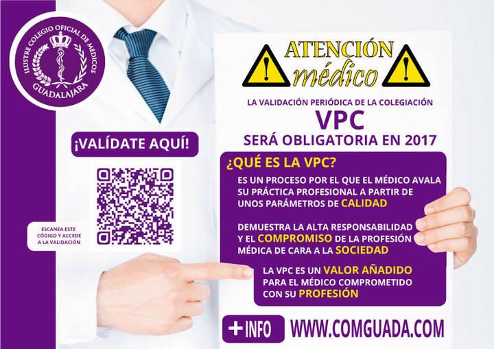 El Colegio de Médicos de Guadalajara hará 'control de calidad' de sus colegiados