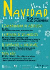 Este jueves, Zambombada, villancicos, chocolate y la visita de Papá Noel en 'Navidad en la calle' en Azuqueca