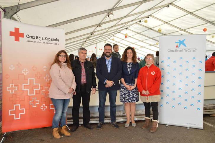 La Obra Social de La Caixa donará dos euros a Cruz Roja por cada persona que patine en la pista de hielo de Azuqueca