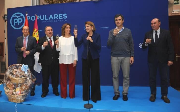 Cospedal afirma en Guadalajara que el PP siempre está al servicio de España y mira por el interés general de los ciudadanos