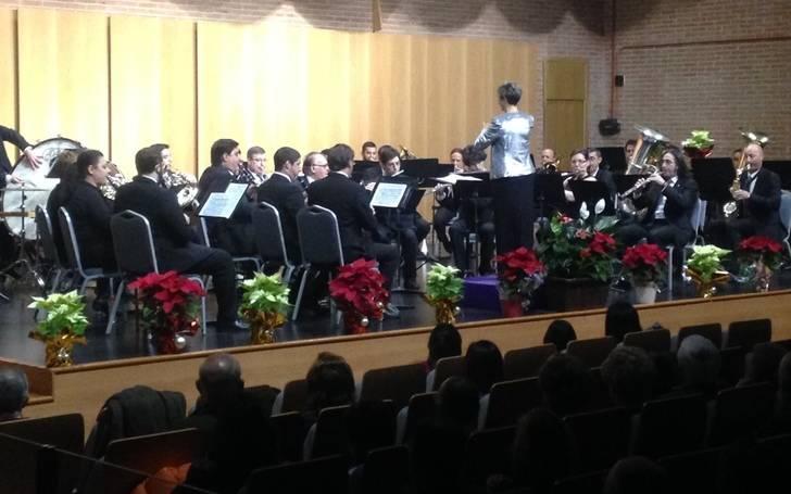 """La Banda de Música de la Diputación de Guadalajara ofreció un espléndido """"Concierto de Navidad"""""""