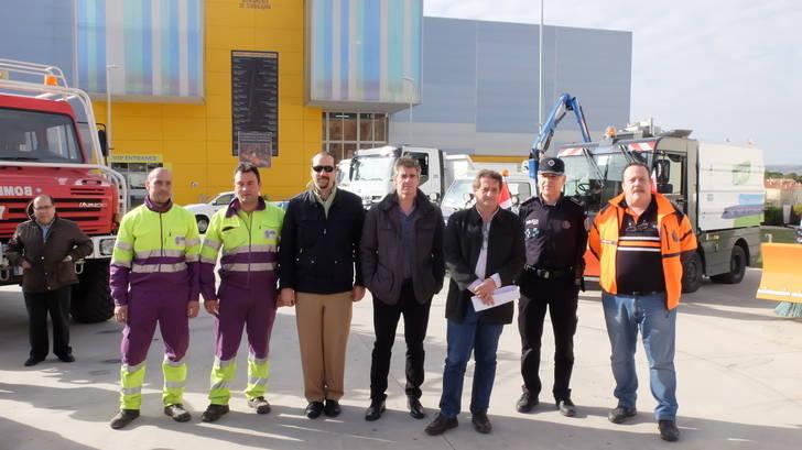 El Ayuntamiento de Guadalajara tiene preparado y listo para funcionar el amplio dispositivo para las nevadas y heladas