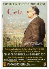 """El sábado 17 se inaugura la exposición de fotos en Brihuega """"Cela, siempre en la Alcarria"""""""