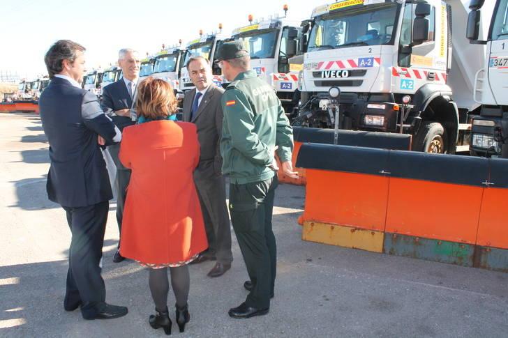 Guadalajara contará este año con 31 camiones quitanieves para la campaña invernal