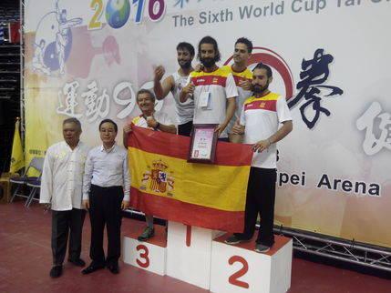 Cuatro alcarreños participaron en el VI Campeonato Mundial de Taiji Quan celebrado en Taiwan