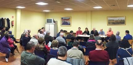 Alcaldes y concejales reclaman desde Yunquera que Page que cumpla sus compromisos para el desarrollo agrícola e industrial de la zona