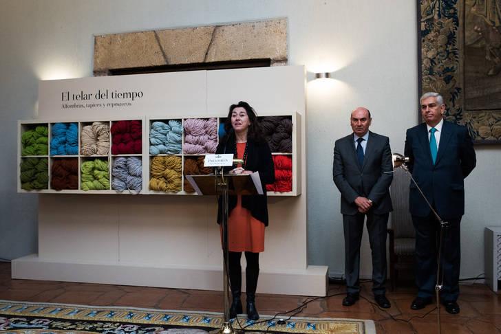 El Parador de Turismo y la Real Fábrica de Tapices presentan la exposición El telar del Tiempo en Sigüenza