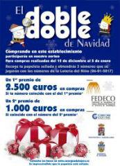 """FEDECO regresa con la campaña """"El doble, doble de Navidad"""" con 3.500 euros en compras"""