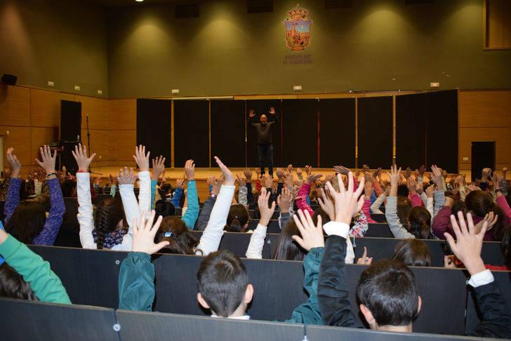 Arrancan los talleres del proyecto 'La poesía anda por las calles', con 852 alumnos de Guadalajara