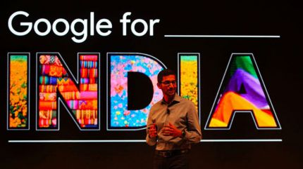 Google regala Internet de alta velocidad en la India