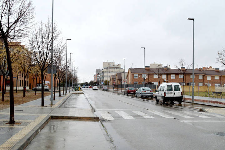 La zona verde de la azudense avenida de Madrid será remodelada