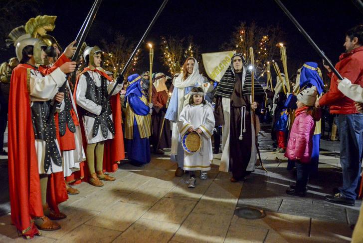 La Cabalgata de Reyes pone el punto final de un programa de Navidad en Marchamalo