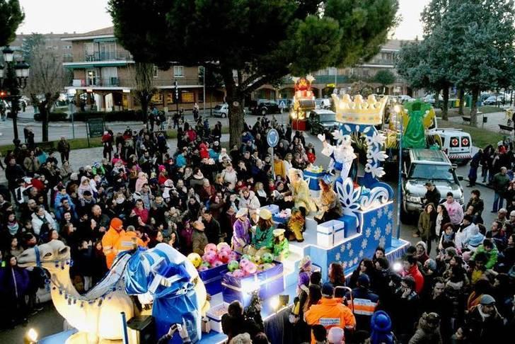 Cabalgata de Reyes de Azuqueca. Fotografía: Álvaro Díaz Villamil/Ayuntamiento de Azuqueca