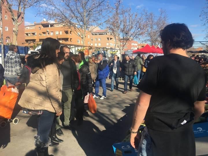 Ciudadanos Azuqueca pide al socialista Blanco que mejore el espacio del mercadillo