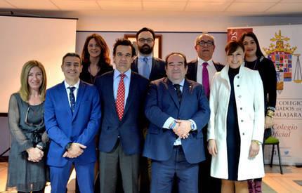 La nueva Junta de Gobierno del Colegio de Abogados de Guadalajara jura su cargo