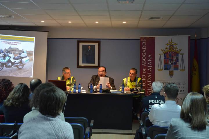 La Seguridad Vial, protagonista de unas Jornadas organizadas en el Colegio de Abogados de Guadalajara