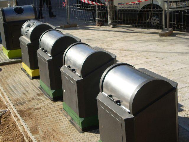 Operativos este viernes 67 nuevos contenedores soterrados en cuatro zonas urbanas en Guadalajara