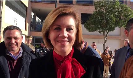María Dolores Cospedal felicita a los castellano-manchegos con un video