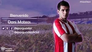 Dani Mateos llega al C.D. Guadalajara
