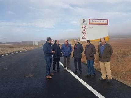 La Diputación invierte casi 26 millones de euros en arreglar más de 320 kilómetros de carreteras en la zona de Sigüenza