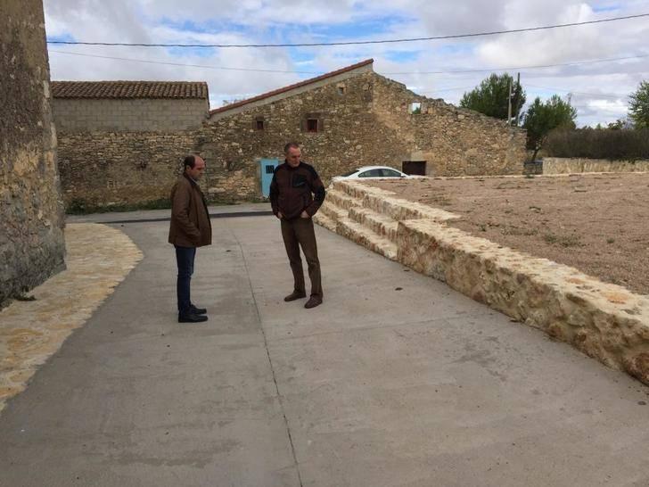 La Diputación de Guadalajara invierte más de 230.000 euros en obras de pavimentación y redes en 8 pueblos de la provincia