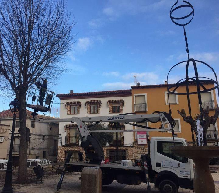 Nueva campaña de poda de la Diputación de Guadalajara para atender las necesidades de cerca de 100 municipios
