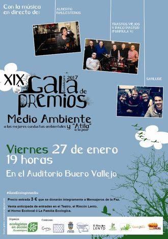 Ecologistas en Acción de Guadalajara ya tiene todo listo para su gala anual