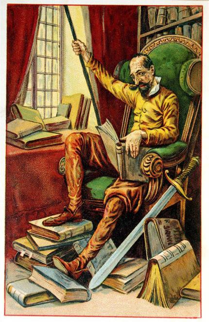 El Quijote no se lee tanto como se dice...Alonso Quijano un desconocido