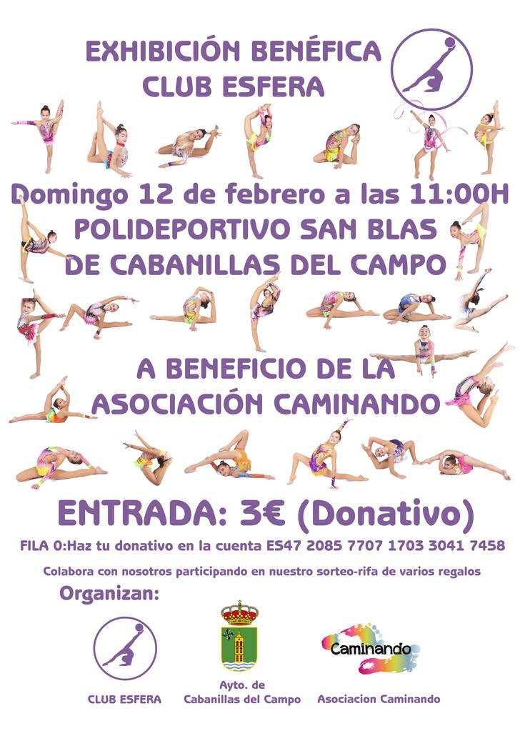 """Exhibición solidaria de gimnasia rítmica en Cabanillas para la """"Asociación  Caminando"""" e589103d3e7a"""