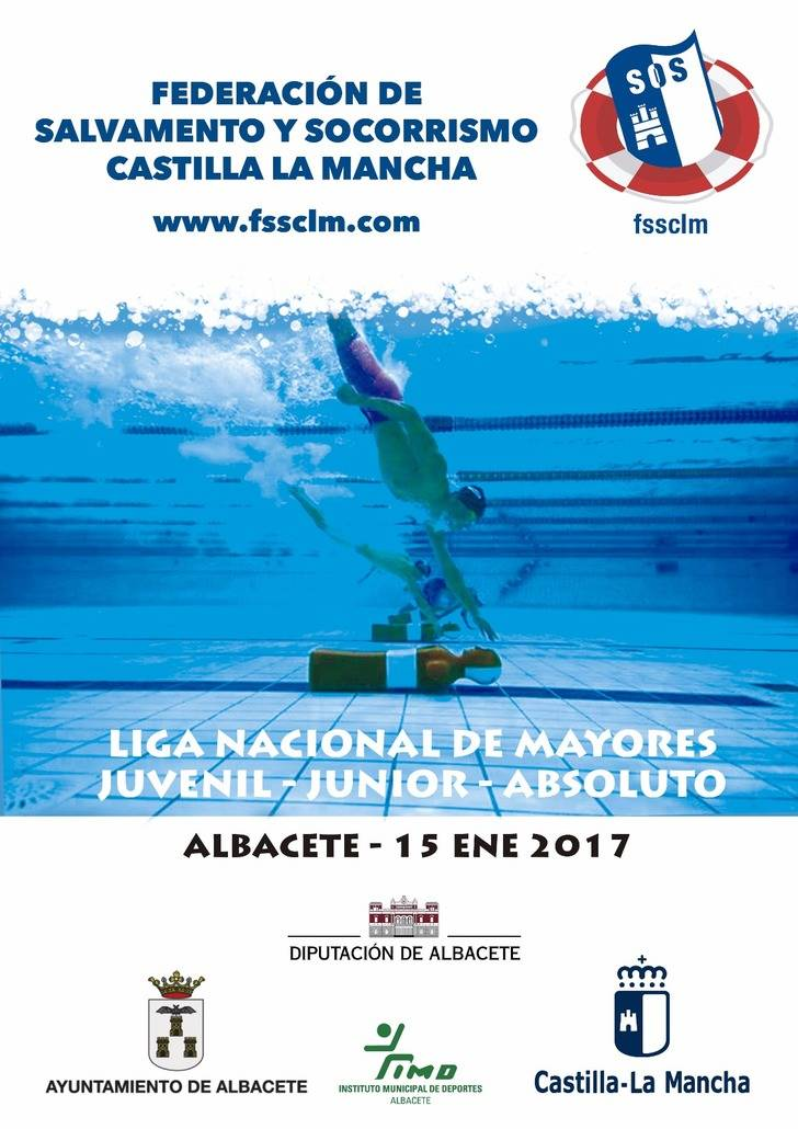 La élite de salvamento deportivo nacional competirá este domingo en Albacete.