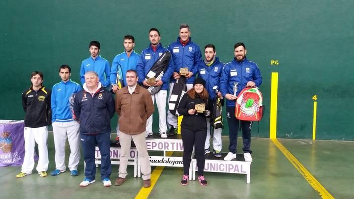 Guadalajara se convirtió en la capital del frontenis regional con el Campeonato Autonómico de Frontenis 30 metros Absoluto