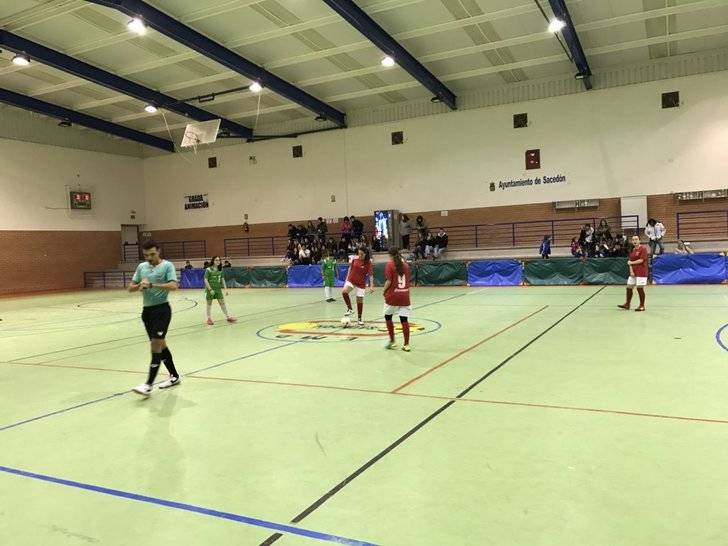 Infantil y cadete femenino llevan la alegría a FS Pozo de Guadalajara