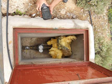Guadalagua recomienda medidas para evitar incidencias en los contadores de agua por las bajas temperaturas