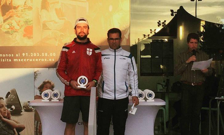 El tenista azudense Guillermo Saiz Gutiérrez, campeón del torneo IBP Uniuso Peugeot Ciudad de la Raqueta