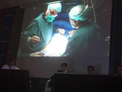La Dra. Mercedes Guerra del Hospital de Guadalajara realizó dos de las nueve intervenciones en el Hospital Vall d'Hebron