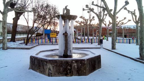 Molina de Aragón registró la temperatura más baja de España en diciembre, 11 grados bajo cero
