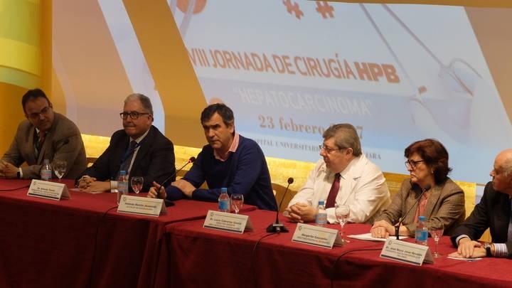 El alcalde de Guadalajara inaugura la VIII Jornada de Cirugía HPN en el Hospital