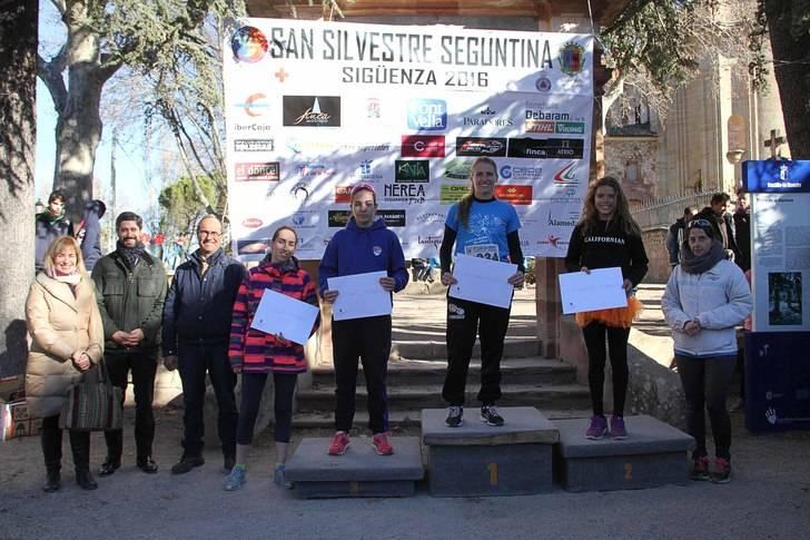 Sigüenza despide deportivamente el 2016 superando los seiscientos corredores en su San Silvestre