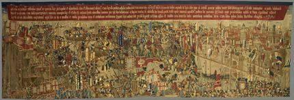 Se cumplen 350 años de que llegaran a Pastrana sus famosos tapices