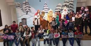 Gran participación de público en la Navidad de Yebra