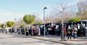 Imagen del mercadillo celebrado este miércoles. Fotografía: Álvaro Díaz Villamil/ Ayuntamiento de Azuqueca de Henares