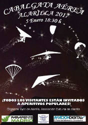 Alarilla prepara su Cabalgata Aérea de Reyes