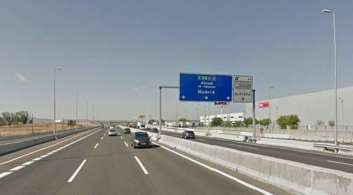Fallece un conductor al salirse con su vehículo en la A2 a la altura de Alovera