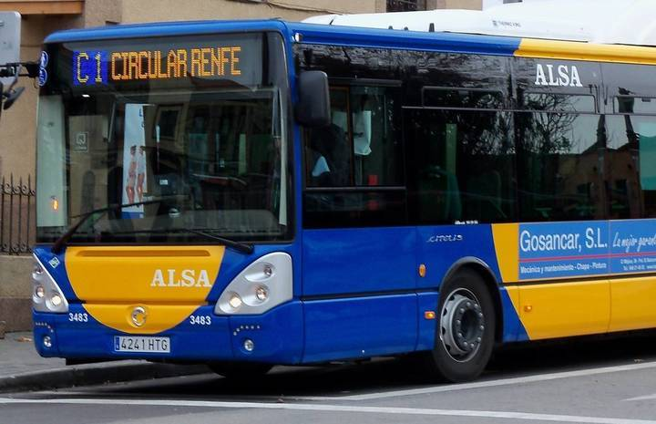 ALSA trabaja para solventar los problemas de las pantallas informativas de los autobuses de Guadalajara