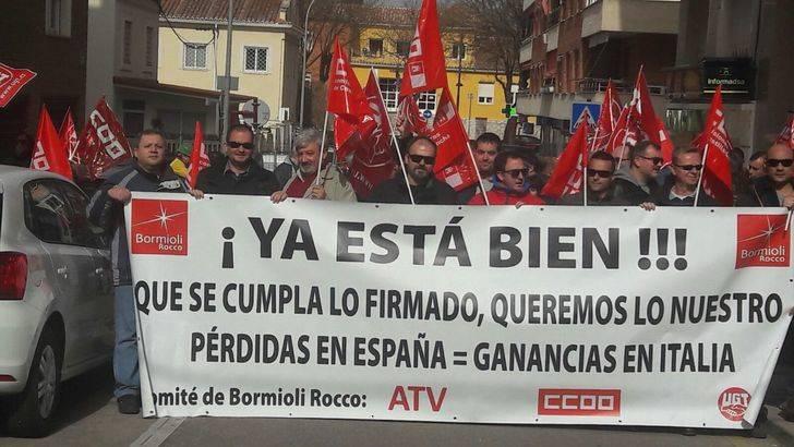 El comité de empresa de Bormioli Rocco anuncia huelga de 9 días durante marzo