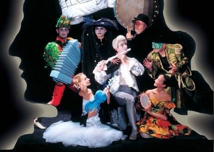 """El Teatro Negro de Praga presenta en el Buero Vallejo """"La Flauta Mágica"""""""